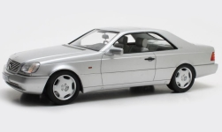 Modelcar - <strong>Mercedes</strong> 600 SEC (C140), silver, 1992<br /><br />Cult Scale Models, 1:18<br />No. 239454