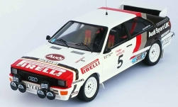 Modelcar - <strong>Audi</strong> quattro, No.5, Audi Sport UK, Welsh Rally, B.Waldegaard/P.Short, 1982<br /><br />Trofeu, 1:43<br />No. 239683