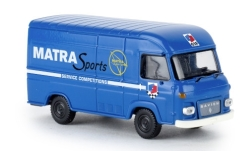 Modelcar - <strong>Saviem</strong> SG2 box wagon, Matra sports, 1965<br /><br />Brekina, 1:87<br />No. 239820