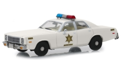 Modellauto - <strong>Plymouth</strong> Fury, Hazzard County Sheriff, 1977<br /><br />Greenlight, 1:43<br />Nr. 239899