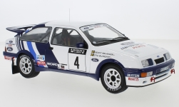 Modelcar - <strong>Ford</strong>  Sierra RS Cosworth, No.4, Rallye WM, 1000 Lakes Rallye, S.Blomqvist/B.Melander, 1988<br /><br />IXO, 1:18<br />No. 239965