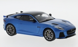 Modelcar - <strong>Jaguar</strong> F-Type SVR, metallic-blue/black, 2016<br /><br />IXO, 1:43<br />No. 239968