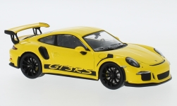 Modelcar - <strong>Porsche</strong> 911 (991) GT3 RS, yellow, 2017<br /><br />IXO, 1:43<br />No. 239976