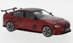 Modelcar - <strong>Jaguar</strong> XE SV Project 8, metallic-dark red, 2017<br /><br />IXO, 1:43<br />No. 239977