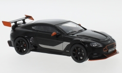 Modelcar - <strong>Aston Martin</strong> Vantage GT 12, black/orange, 2015<br /><br />IXO, 1:43<br />No. 239978
