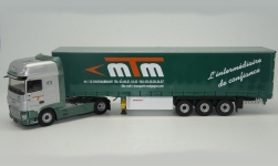 Modelcar - <strong>DAF</strong> XF MY Superspace Cab, Transports Malgogne, curtain side-trailer truck, 2017<br /><br />Eligor, 1:43<br />No. 240102