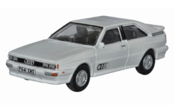 Modelcar - <strong>Audi</strong> Quattro, white, RHD<br /><br />Oxford, 1:76<br />No. 240116