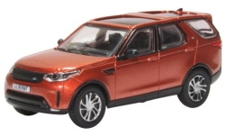ModelCar - <strong>Land Rover</strong> Discovery 5, metallic-dunkelorange, RHD<br /><br />Oxford, 1:76<br />No. 240121