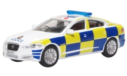 voiture miniature - <strong>Jaguar</strong> XF, RHD, Surrey Police<br /><br />Oxford, 1:76<br />N° 240141