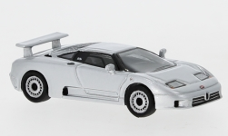 Modellauto - <strong>Bugatti</strong> EB 110, metallic-silber, 1991<br /><br />BoS-Models, 1:87<br />Nr. 240157
