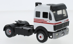 Modelcar - <strong>Mercedes</strong> 1835, white/red, Solo-towing vehicle<br /><br />Eligor, 1:43<br />No. 240168