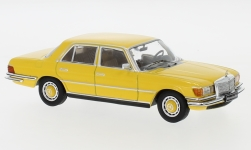 Modelcar - <strong>Mercedes</strong> 450 SEL (W116), yellow, 1975<br /><br />IXO, 1:43<br />No. 240240