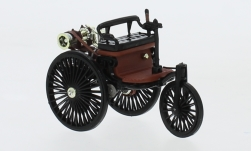 voiture miniature - <strong>Benz</strong> brevet voiture automobile, noire, 1886<br /><br />IXO, 1:43<br />N° 240241