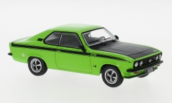 Modelcar - <strong>Opel</strong> Manta A GT/E, light green/black, 1974<br /><br />IXO, 1:43<br />No. 240242