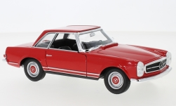 Modellauto - <strong>Mercedes</strong> 230 SL (W113), rot, 1963<br /><br />Welly, 1:24<br />Nr. 240299