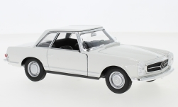 Modellauto - <strong>Mercedes</strong> 230 SL (W113), weiss, 1963<br /><br />Welly, 1:24<br />Nr. 240300