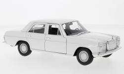 Modellauto - <strong>Mercedes</strong> 220 (W115), weiss, 1968<br /><br />Welly, 1:24<br />Nr. 240301
