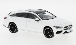 Modellauto - <strong>Mercedes</strong> CLA Shooting Brake, weiss, 2019<br /><br />I-Spark, 1:43<br />Nr. 240335