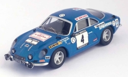 Modellauto - <strong>Alpine Renault</strong> A110, No.4, RAC Rallye, O.Andersson/G.Phillips, 1971<br /><br />Trofeu, 1:43<br />Nr. 240344