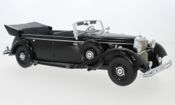 Modellauto - <strong>Mercedes</strong> 770 (W150) Cabriolet, schwarz, 1938<br /><br />MCG, 1:18<br />Nr. 240347