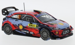 Modellauto - <strong>Hyundai</strong> i20 WRC, No.11, WRC, Rally Catalunya, T.Neuville/G.Gilsoul, 2019<br /><br />IXO, 1:43<br />Nr. 240350