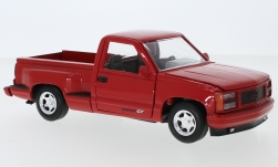 Modelcar - <strong>GMC</strong>  Sierra GT Pickup, red, 1992<br /><br />Motormax, 1:24<br />No. 240367