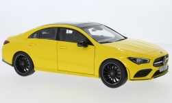 Modellauto - <strong>Mercedes</strong> CLA (C118), gelb, 2019<br /><br />I-Z Models, 1:18<br />Nr. 240399