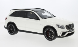 Modelcar - <strong>Mercedes</strong> AMG GLC 63, white, 2019<br /><br />I-GT Spirit, 1:18<br />No. 240419