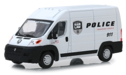 Modellauto - <strong>RAM</strong> Promaster 2500 Cargo Highroof, RAM Law Police Transport Vehicle, 2018<br /><br />Greenlight, 1:43<br />Nr. 240480