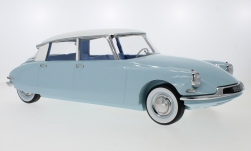 Modellauto - <strong>Citroen</strong> DS 19, hellblau/weiss, 1959<br /><br />Norev, 1:12<br />Nr. 240549