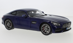 Modellauto - <strong>Mercedes</strong> AMG GT S (C190), metallic-blau, 2019<br /><br />Norev, 1:18<br />Nr. 240585