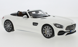 Modellauto - <strong>Mercedes</strong> AMG GT C Roadster (R190), metallic-weiss, 2019<br /><br />Norev, 1:18<br />Nr. 240587
