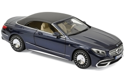 Modellauto - <strong>Mercedes</strong> Maybach S650 Cabriolet, metallic-dunkelblau, 2018<br /><br />Norev, 1:18<br />Nr. 240588