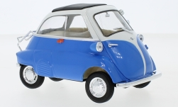 Modellauto - <strong>BMW</strong> Isetta 250, blau/weiss<br /><br />Welly, 1:18<br />Nr. 240613