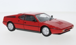 Modellauto - <strong>BMW</strong> M1, rot, 1978<br /><br />Welly, 1:24<br />Nr. 240614