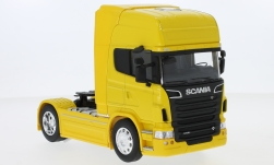 Modelcar - <strong>Scania</strong> R730 V8 (4x2), yellow<br /><br />Welly, 1:32<br />No. 240618