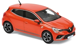 Modellauto - <strong>Renault</strong> Clio R.S. Line, metallic-orange, 2019<br /><br />Norev, 1:43<br />Nr. 240627