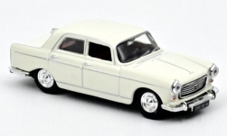 ModelCar - <strong>Peugeot</strong> 404, weiss, 1968<br /><br />Norev, 1:87<br />No. 240641