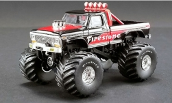 автомодель - <strong>Ford</strong> F-250 Monster Truck, Firestone, 1974<br /><br />ACME, 1:64<br />№ 240781