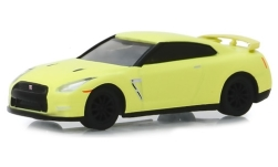 Modelcar - <strong>Nissan</strong> GT-R (R35), light yellow, 2016<br /><br />Greenlight, 1:64<br />No. 240815