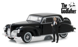 автомодель - <strong>Lincoln</strong> Continental, The Godfather, mit Figur, 1941<br /><br />Greenlight, 1:43<br />№ 240831