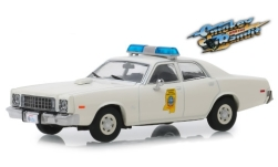 автомодель - <strong>Plymouth</strong> Fury, Mississippi Highway Patrol Smokey and the Bandit, 1975<br /><br />Greenlight, 1:43<br />№ 240832