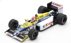 voiture miniature - <strong>Williams</strong> FW11 Honda, No.6, formule 1, GP Brésil, N.Piquet, 1986<br /><br />Spark, 1:43<br />N° 240957