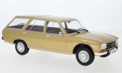 Modellauto - <strong>Peugeot</strong> 504 Break, gold, 1976<br /><br />MCG, 1:18<br />Nr. 241010