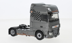 Modelcar - <strong>DAF</strong> XF MY Pole Position, metallic-dunkelgrau, with Decals, 2017<br /><br />Eligor, 1:43<br />No. 241016