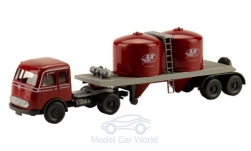 Modellauto - <strong>Mercedes</strong> Pullman Chemikalien-SZ, Serie 800<br /><br />Wiking / PMS, 1:87<br />Nr. 241267