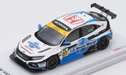 Modellauto - <strong>Honda</strong> Civic Type R TCR, No.37, LA Honda World Racing, 24h Daytona, T.O Gorman/S.Blackstock, 2019<br /><br />TrueScale Miniatures, 1:43<br />Nr. 241326