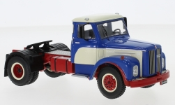 Modelcar - <strong>Scania</strong> 110 super, blue/white, 1953<br /><br />IXO, 1:43<br />No. 241620