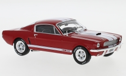 ModelCar - <strong>Ford</strong> Mustang Shelby GT 350, rot/weiss, 1965<br /><br />IXO, 1:43<br />No. 241635