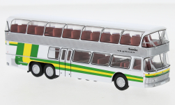 Modelcar - <strong>Neoplan</strong> NH 22 double decker, silver/green, 1967<br /><br />Brekina Starline, 1:87<br />No. 241748